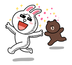 Line Brown and Cony